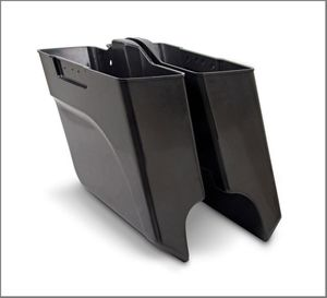 Arlen Ness Undercut & Angled Stretched bags