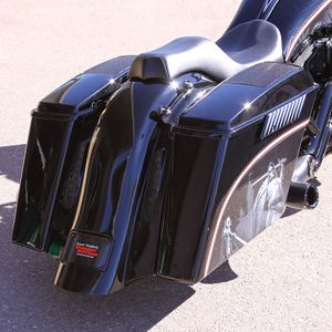 BaggerNation Chupa Rear CVO Fender - No Outlet