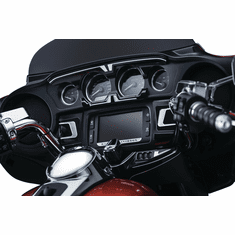 Bahn� Ignition Switch Cover for Touring & Trike - Tuxedo