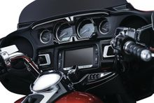 Bahn™ Ignition Switch Cover for Touring & Trike - Tuxedo