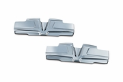 Bahn Rocker Cover Accents for Twin Cam - Chrome