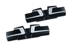 Bahn™ Rocker Cover Accents for Twin Cam -  Tuxedo
