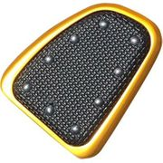Banana Board Brake Pedal Cover - Gold with Rivets