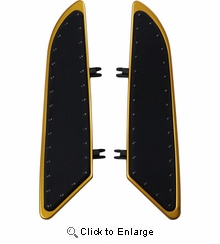 """Banana Boards 21"""" gold With Rivets"""