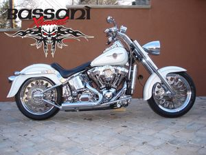 Bassani PRO-STREET Straight Cut Tips For Softail