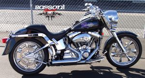 Bassani PRO-STREET Turn-Outs For Softails
