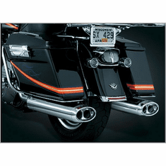 Beast� Oval Mufflers with Streamliner Tips