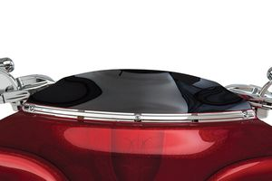 Beveled Windshield Trim - Chrome