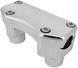 Biker's Choice Fat Risers with Top Clamps