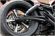 Speedster Swing Arm kit For V-Rods 2007-2017 in Black