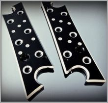 Black Silencer Latch Covers