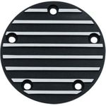 Kuryakyn Finned Points Cover-Black