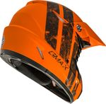 GMAX - MX-46 OFF-ROAD DOMINANT HELMET MATTE ORANGE/BLACK