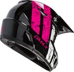 GMAX - MX-46 OFF-ROAD DOMINANT HELMET BLACK/PINK/WHITE