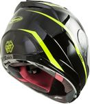 GMAX - FF-88 FULL-FACE PRECEPT HELMET BLACK/HI-VIS YELLOW