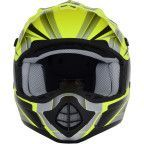 AFX - FX-17 Helmet - Force - Matte Neon Yellow/Silver