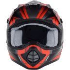 AFX - FX-17 Helmet - Force - Frost Gray/Red
