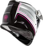 GMAX - AT-21 ADVENTURE RALEY HELMET BLACK/WHITE/PINK