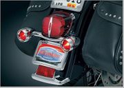 Bullet Light Rear Turn Signal Bar for Touring Models