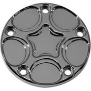 Carl Brouhard Designs Sprio  Points Cover-Twin Cam