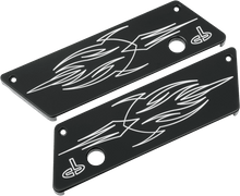 CARL BROUHARD Lefty Series Latch Cover in Black