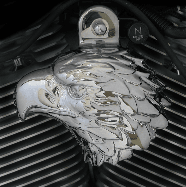 Chrome Bald Eagle Cover
