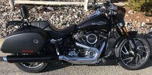 Chrome Tip Compatible Sport Glide Exhaust 18'-UP