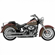 "Cobra 3"" Slip-On Mufflers Chrome"