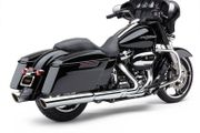 909 Slip-On Mufflers Chrome