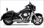 Speedster Short Swept Chrome w/ Chrome Heat Shields