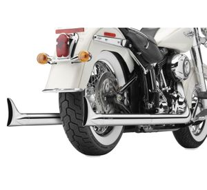 Cobra True Duals for V-Twin Fish Tail