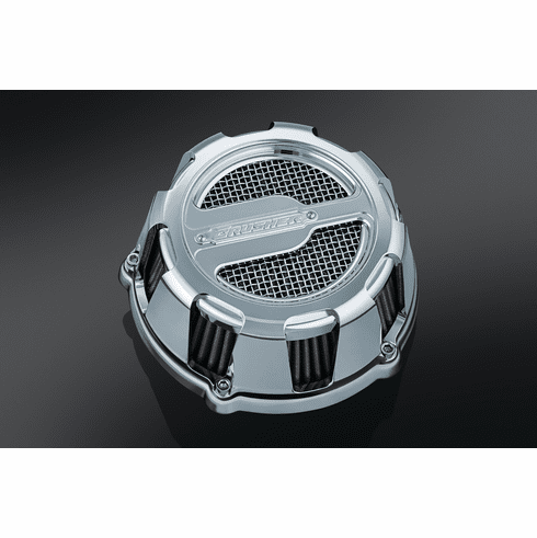 Crusher Maverick Air Cleaner in Chrome