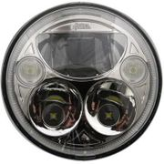 Custom Dynamics 5-3/4in TruBeam LED Headlamps-Chrome