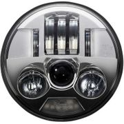 Custom Dynamics 5.75in ProBeam LED Headlamp-Chrome