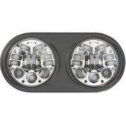 Custom Dynamics ProBeam LED Headlamp- Chrome