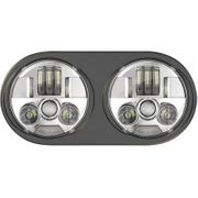 Custom Dynamics ProBeam LED Headlight Assembly- Chrome