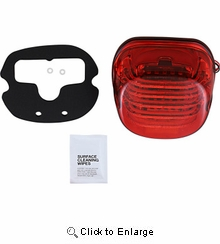 Custom Dynamics - ProBeam® Low Profile LED Taillight with Bottom Window - Red