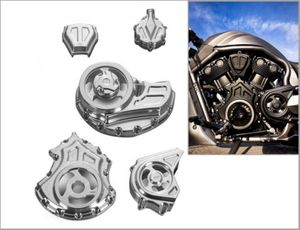 Cut-Out Engine and Transmission Covers - Complete Kit for V-Rod Muscle