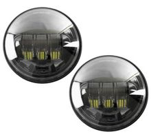 Cyron Passing Lamps- Black 4 1/2in