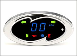 Dakota Digital Bar Mount Oval Speedometer