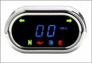 Dakota Digital Bar Mounted Classic Oval Speedometer