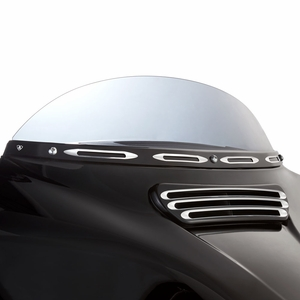 Deep Cut Windshield Trim - Black