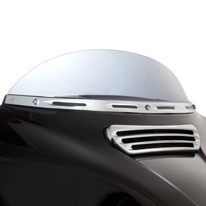 Deep Cut Windshield Trim - Chrome