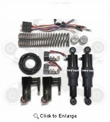 DIRTY AIR FRONT AND REAR DYNA AIR SUSPENSION SYSTEM