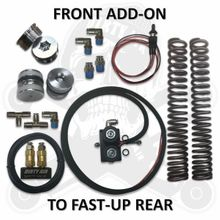 """DIRTY AIR *NEW* FAST-UP REAR """"ADD ON"""" FRONT AIR PARTS"""