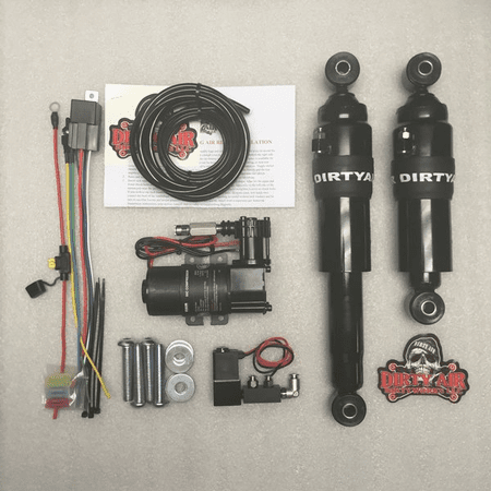 Dirty Air Rear Air Suspension System For Touring Models