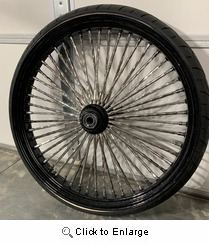 DNA Twisted Spoke 26 Inch Front Wheel