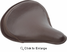 Drag Large Spring Solo- Brown Leather
