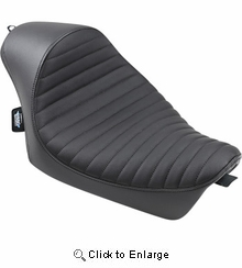 Drag Specialties - Cafe Solo Seat - Classic - XL