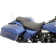 Drag Specialties - Extended Reach Predator Seat - Mild Stitched - Driver's Backrest